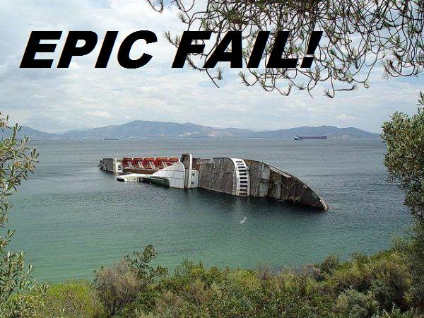 Epic Boat Fail